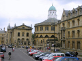 broad street oxford sheldonian theatre background. historical uk buildings history british architecture architectural oxfordshire home counties england english great britain united kingdom