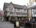 oldest pub manchester old wellingtonian public houses tavern bar alchohol british architecture architectural buildings uk greater england english great britain united kingdom