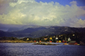island tysnesøy norway european travel showery cumulus tysnesoy bjørnafjorden fishing village clouds meteorology kongeriket norge europe norwegan