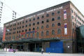 great northern warehouse manchester. built 1898 building refurbished includes shopping cafés bars meeting performance spaces. uk industrial buildings british architecture architectural railway greater manchester england english britain united kingdom