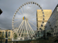 wheel manchester opened 2007 exchange square 10 minute ride gives great views city. leisure uk big england english britain united kingdom british