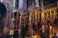 interior cathedral sainte-cécile sainte cécile saintecécile albi department tarn french buildings european travel cathédrale midi-pyrénées midi pyrénées midipyrénées pyrenees albigensian cathar mediaeval midi-pyrenees midi pyrenees midipyrenees france la francia frankreich europe