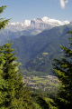 french alps looking samoens valley tete ane ridge landscapes european travel haute-savoie haute savoie hautesavoie glacier snow line grand massif alpine rhône-alpes rhône alpes rhônealpes france la francia frankreich europe