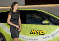 laura robson british girls champion wimbledon tennis championships 2008 arriving dinner. players sport sporting celebrities celebrity fame famous star people persons champon english london cockney england great britain united kingdom
