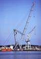 giant floating crane uglen stavanger harbour. marine misc. shipping barge ugland oil lifting platform industry norway norge kongeriket europe european norwegan
