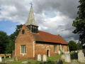 woodham walter church. church stands just village elizabethan red brick. believed built essex reign elizabeth i. remarkable thing mellow red-brick red brick redbrick charact uk churches worship religion christian british architecture architectural buildings england english great britain united kingdom