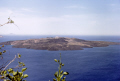 volcanic island nea kameni greece. taken thera santorini. volcanoes geology geological science misc. aegean sea greek cyclades atlantis minoan caldera volcano pumice basalt lava greece europe european