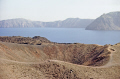 crater volcano nea kameni near santorini volcanic volcanoes geology geological science misc. aegean sea greek cyclades atlantis minoan caldera pumice basalt lava greece europe european
