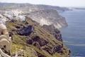 thera island santorini greece greek european travel aegean sea cyclades atlantis minoan caldera volcano pumice basalt lava europe