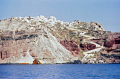 northern end island santorini greece greek european travel shipwreck sunken aegean sea cyclades atlantis minoan caldera volcano pumice basalt lava europe