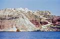 northern end island santorini greece greek european travel shipwreck sunken aegean sea cyclades atlantis minoan caldera volcano pumice basalt lava europe