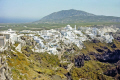thera island santorini greek european travel aegean sea cyclades atlantis minoan caldera volcano pumice basalt lava nea kameni greece europe