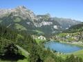 lake near engleberg swiss suisse european travel engleburg alps mountain switzerland schweiz europe