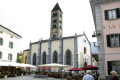 san vittore mauro church poschiavo italian-speaking italian speaking italianspeaking town switzerland. late gothic stood site 1212 renovated times since. swiss suisse european travel italian switzerland schweiz europe