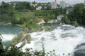 rhine falls europe largest waterfall. swiss suisse european travel waterfall schaffhausen neuhausen switzerland schweiz