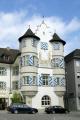 building herrenbacker square schaffhausen. swiss suisse european travel schaffhausen switzerland