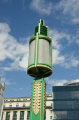 art deco lamp mersey tunnel hq liverpool uk commercial buildings retailers british architecture architectural metal cast ornate green merseyside scouse england english great britain united kingdom