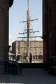 masts maritime museum albert dock liverpool uk museums british architecture architectural buildings tall ship harbour dockside merseyside scouse england english great britain united kingdom