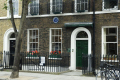 charles dickens house doughty street wc2 london authors writer celebrities celebrity fame famous star people persons victorian home lived cockney england english great britain united kingdom british
