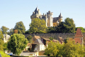 chateau montfort french châteaus european travel simon aquitaine yellow limestone cliffs mediaeval medaeval perigord correze limousin france la francia frankreich europe