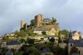 town turenne limousin french landscapes european travel correze mediaeval medaeval chateau castle hilltop les plus beaux villages france la francia frankreich europe