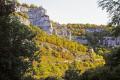 rocamadour alzou valley french landscapes european medaeval mediaeval pilgrimage penitant religious catholic church chapel santiago compostela lot midi pyrenees france la francia frankreich