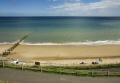 beach overstrand norfolk near cromer british beaches coastal coastline shoreline uk environmental seaside people sun water england english great britain united kingdom