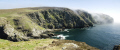 spanish head southern isle man steep cliffs sudden drops uk coastline coastal environmental sea seaside coast rocks danger manx england english great britain united kingdom british