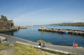 peel harbour west coast isle man castle uk coastline coastal environmental manx bay sea seaside town england english great britain united kingdom british