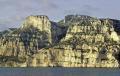 la grande candelle massif puget. french landscapes european travel cliffs bouches-du-rhône bouches du rhône bouchesdurhône provence france mediterranean provencale cote azur geology limestone cap du devenson gardiole provence-alpes-côte provence alpes côte provencealpescôte francia frankreich europe