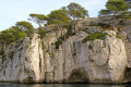 cliffs calanque port pin near cassis french landscapes european travel bouches-du-rhône bouches du rhône bouchesdurhône provence france mediterranean provencale cote azur geology limestone inlet creek cove harbour anchorage provence-alpes-côte provence alpes côte provencealpescôte la francia frankreich europe