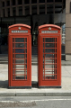 red phone boxes eldon street london british architecture architectural buildings uk telephone kiosk box twin city cockney england english great britain united kingdom