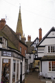 abbott reginald gateway saints church evesham half timbered buildings historical uk history british architecture architectural house walker hall tudor half-timbered half timbered halftimbered elizabethan worcestershire england english great britain united kingdom