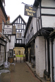 abbott reginald gateway evesham half timbered buildings historical uk history british architecture architectural church house walker hall tudor half-timbered half timbered halftimbered elizabethan worcestershire england english great britain united kingdom
