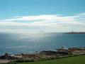 ailsa craig pictured isle arran uk coastline coastal environmental arran. lighthouses highlands islands scotland scottish scotch scots escocia schottland great britain united kingdom british