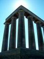 unfinished national monument. edingburgh.scotland edingburgh scotland edingburghscotland uk monuments british architecture architectural buildings calton hill edinburgh midlothian central scotland scottish scotch scots escocia schottland great britain united kingdom