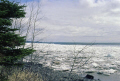pack ice lake superior minnesota. american yankee travel northshore usa highway 61 hwy great minnesota united states america