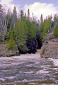 temperance river minnesota. american yankee travel northshore usa cascade waterfall highway 61 hwy great minnesota united states america