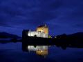 ellen donan castle scottish castles british architecture architectural buildings uk night highlands islands scotland scotch scots escocia schottland great britain united kingdom states american