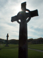 celtic cross iona abbey.scotland abbey scotland abbeyscotland uk abbeys churches worship religion christian british architecture architectural buildings abbey argyll bute argyllshire scotland scottish scotch scots escocia schottland great britain united kingdom