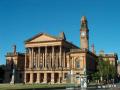 paisley town hall. scotland uk halls government buildings british architecture architectural hall renfrewshire scottish scotch scots escocia schottland great britain united kingdom
