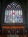 stained glass window paisley abbey uk churches worship religion christian british architecture architectural buildings renfrewshire scotland scottish scotch scots escocia schottland great britain united kingdom