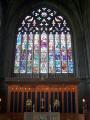 stained glass window paisley abbey uk churches worship religion christian british architecture architectural buildings renfrewshire scotland scottish scotch scots escocia schottland great britain united kingdom