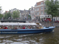 canal boat amsterdam boats marine misc. holland la hollande holanda olanda europe european netherlands dutch