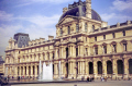 main building louvre art gallery paris french buildings european travel fountain museum sculpture statues mouseé musée du da vinci cezanne monet manet parisienne france la francia frankreich europe