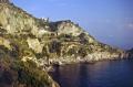 conca dei marini church san pancrazio near amalfi. italian european travel sorrento italy campania neopolitan naples napoli costiera amalfitana mediterranean amalfi coast italien italia italie europe