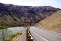 yakima canyon washington state usa american yankee travel valley river gorge highway united states america