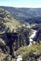 grand canyon yellowstone river national park. geology geological science misc. caldera crater magma volcanic vulcanism uncle tom trail np usa cascade water wyoming united states america american