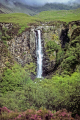 isle skye eas mor waterfall near cuillin hills waterfalls cascade cataracts geology geological science misc. mountains sgurr alasdair scottish scotland celtic scotch scots escocia schottland great britain united kingdom british