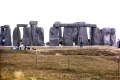 stonehenge amesbury wiltshire taken 1976. neolithic tourist attractions england english uk ancient monument calendar circle druid iron age prehistoric solstice winter summer wilts great britain united kingdom british